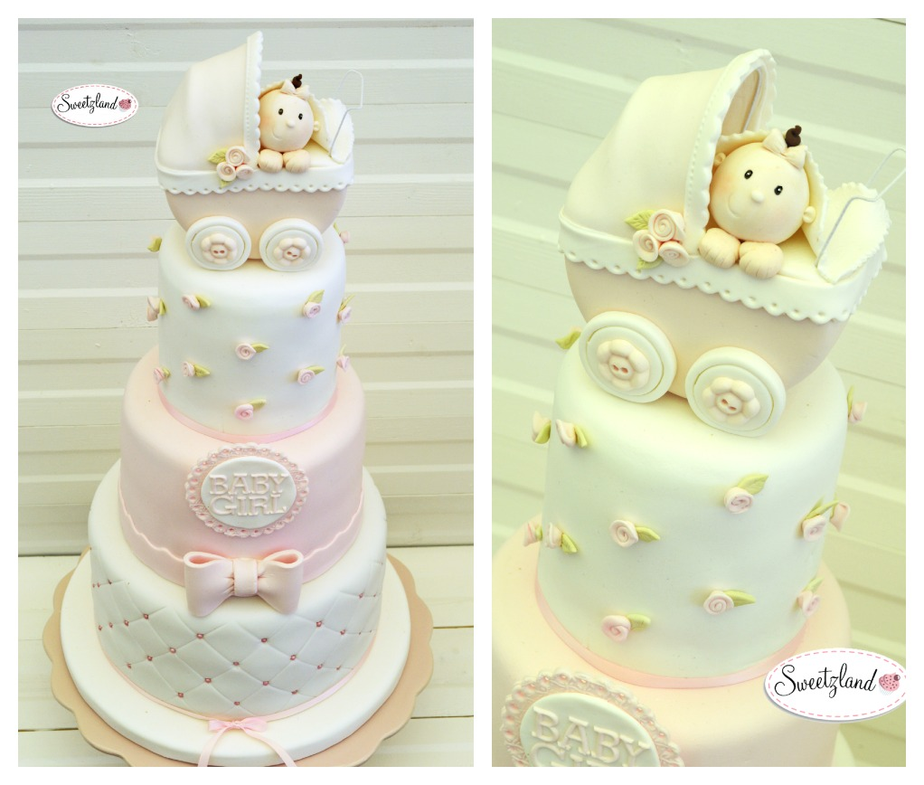 Baby shower cake in Bienne Biel