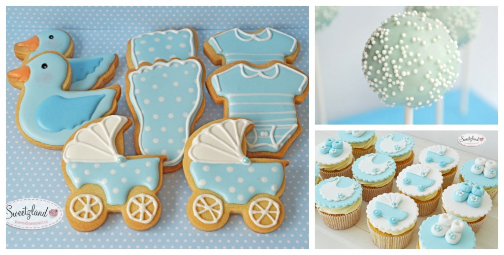 Cookies baby shower in Bienne Biel